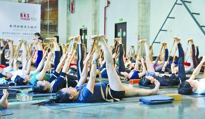 瑜伽近年漸趨普及